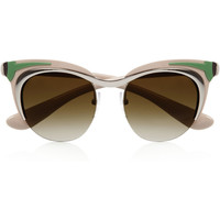 Prada | Cat eye acetate sunglasses | NET-A-PORTER.COM