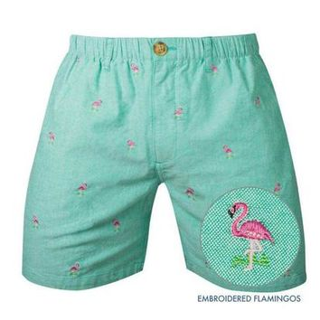 The Gullibles | Chubbies Blue Embroidered Seagull Shorts – Chubbies Shorts