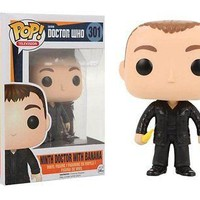Funko Pop TV: Doctor Who: Doctor #9 with Banana Exclusive Vinyl Figure