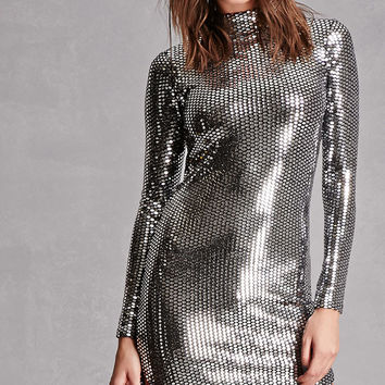 Mirrored Sequin Dress
