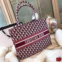 Christian Dior High Quality New Fashionable Women Shopping Leather Handbag Tote Shoulder Bag