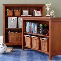 Beadboard 2-Shelf Bookcase
