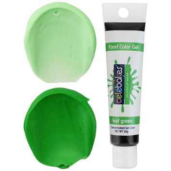 Leaf Green Gel Food Coloring - Celebakes