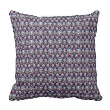 Vintage Jewels Throw Pillow