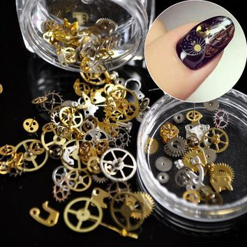 Chenier OPAL FERRIE - 1 Box Ultra-thin Steam Punk Parts 3D Nail Art