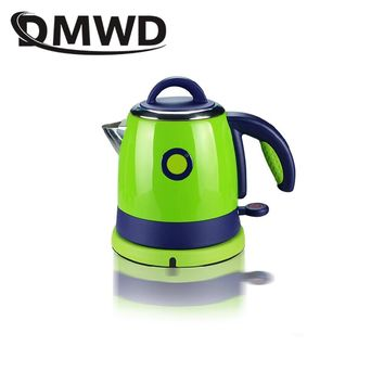DMWD 0.8L Split Style Stainless Steel Quick Heating water Kettles Auto power off Electric kettle teapot boiler 1000w EU US plug