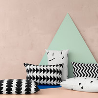 Black & White Graphic Pillows