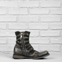 Engineer Triple Buckle Boot - Collection -> Shoes -> Boots | John Varvatos