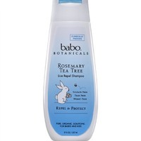 Babo Botanicals Lice Repel Shampoo, 8 Ounce | AihaZone Store