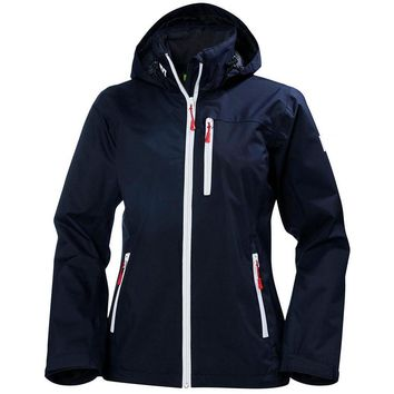 Helly Hansen Women's Crew Hooded Jacket Navy