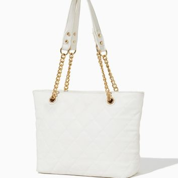 Luna Luxe Quilted Tote | Handbags & Purses - Modern Romance | charming charlie