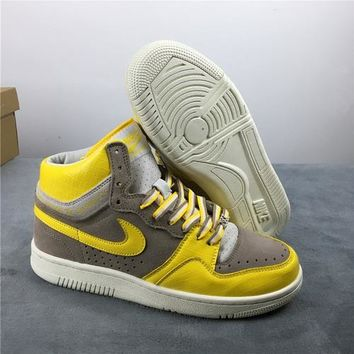 [Free Shipping ]Nike Court Force Stussy Hi 25th 312270-271 Basketball Shoes