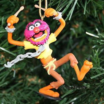 Licensed cool NEW Disney MUPPETS ANIMAL CHAINS Christmas Ornament PVC SESAME STREET JIM HENSON