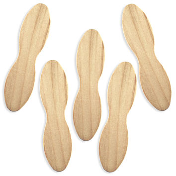 Mini Wood Taster Spoons