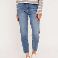 BDG Girlfriend Light Blue Jeans - Urban Outfitters
