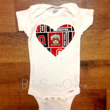 Ohio State Girls Bodysuit