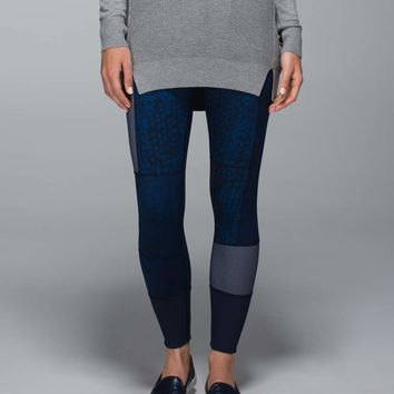 wunder under pant *full-on luon (sashiko) | women's pants | lululemon athletica