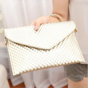 Clutches Evening Bag envelope Cross