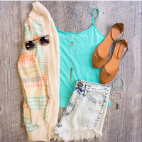 Shirley Top in Mint