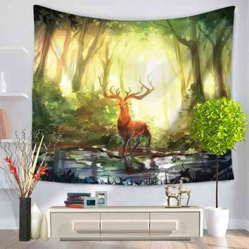 Wall Tapestry Beach Towel Bedspread Cover Picnic Throw Rug Blanket Yoga Mat Towel Hippie Tapestry