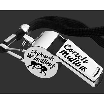 Wrestling Coach Whistle | Personalized Whistle