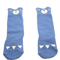 Blue Bear- Baby High Knee Socks