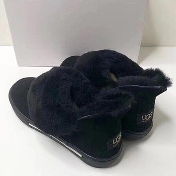 UGG Women Fashion Short Boots Wool Snow Boots Shoes
