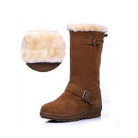 Round Toe Winter Snow Boots Botas Mujer Shoes Women Zapatos Mujer Bota Neve Shoes Women