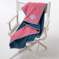 Reversible Fleece Throw| Throws | The Skipjack Collection | Home Collection | Southern Tide