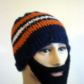 Bearded Beanie  Hat L/XL