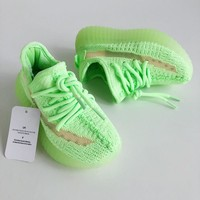 """adidas Yeezy Boost 350 V2 """"Glow in the Dark"""" Toddler Kid Shoes Child Sneakers - Best Deal Online"""