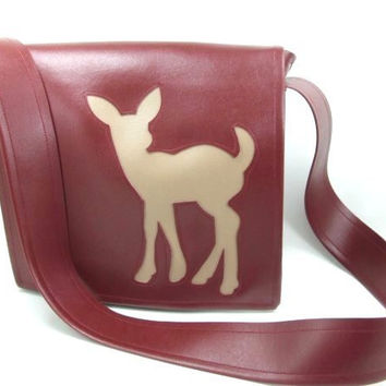 Fawn For Vinyl Messenger Bag