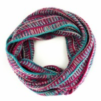 ZLYC Multicolored Infinity Scarf Loop Scarf Circle Scarf