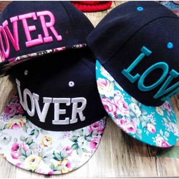Fashion   Women's LOVER Letter  Hip Hop Caps  Sun Hats   Snapback Caps Men's Baseball Cap = 1958065668
