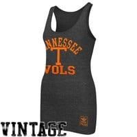 adidas Tennessee Volunteers Ladies Her Homecoming Tri-Blend Tank Top - Black
