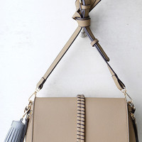 Measure Up Taupe Purse