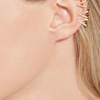 Scalloped Cutout Ear Cuff