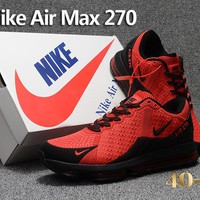 Nike Air Max Flair 270 red/black size 40-47