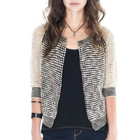 Unionbay Open-Work Cardigan