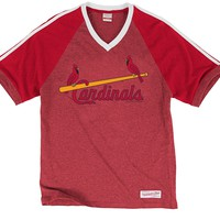 Take Your Base Tee St. Louis Cardinals Mitchell & Ness Nostalgia Co.