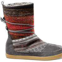 Mixed Woven Women's Nepal Boots US