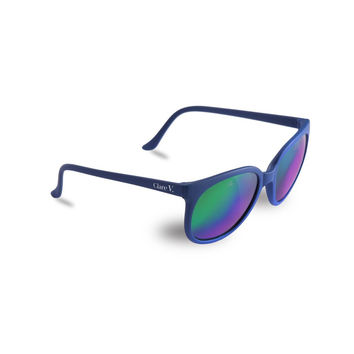 Clare V. x Vuarnet Sunglasses - Electric Indigo