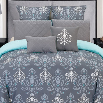 Duck River Lucienda Comforter Set - Blue -