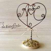 Customize Wire Wedding Cake Topper