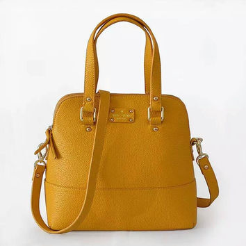 Kate Spade Women Shopping Leather Handbag Tote Satchel bag