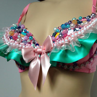Cupcakes and Candy Rave Bra / EDC Bra / EDC Outfit / Rave Outfit