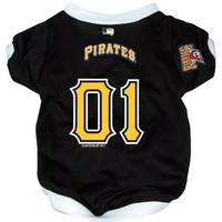 Pittsburgh Pirates Pet Dog Baseball Jersey SMALL