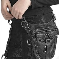 Atomic Black Studded Isosceles Bag
