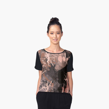 'Abstract' Women's Chiffon Top by capricedefille