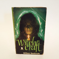 Witchcraft by William Seabrook 1970 UK Edition Paperback